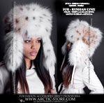 Siberian ushanka hats