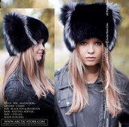 Wigs, fur beanies