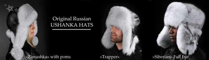 Ushanka hat with flaps