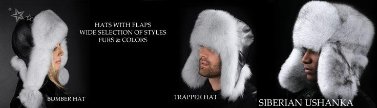 Hats with flaps