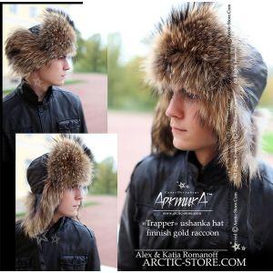 Trapper hat, finn raccoon