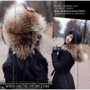 Fur hood - women's fur hat - arctic-store