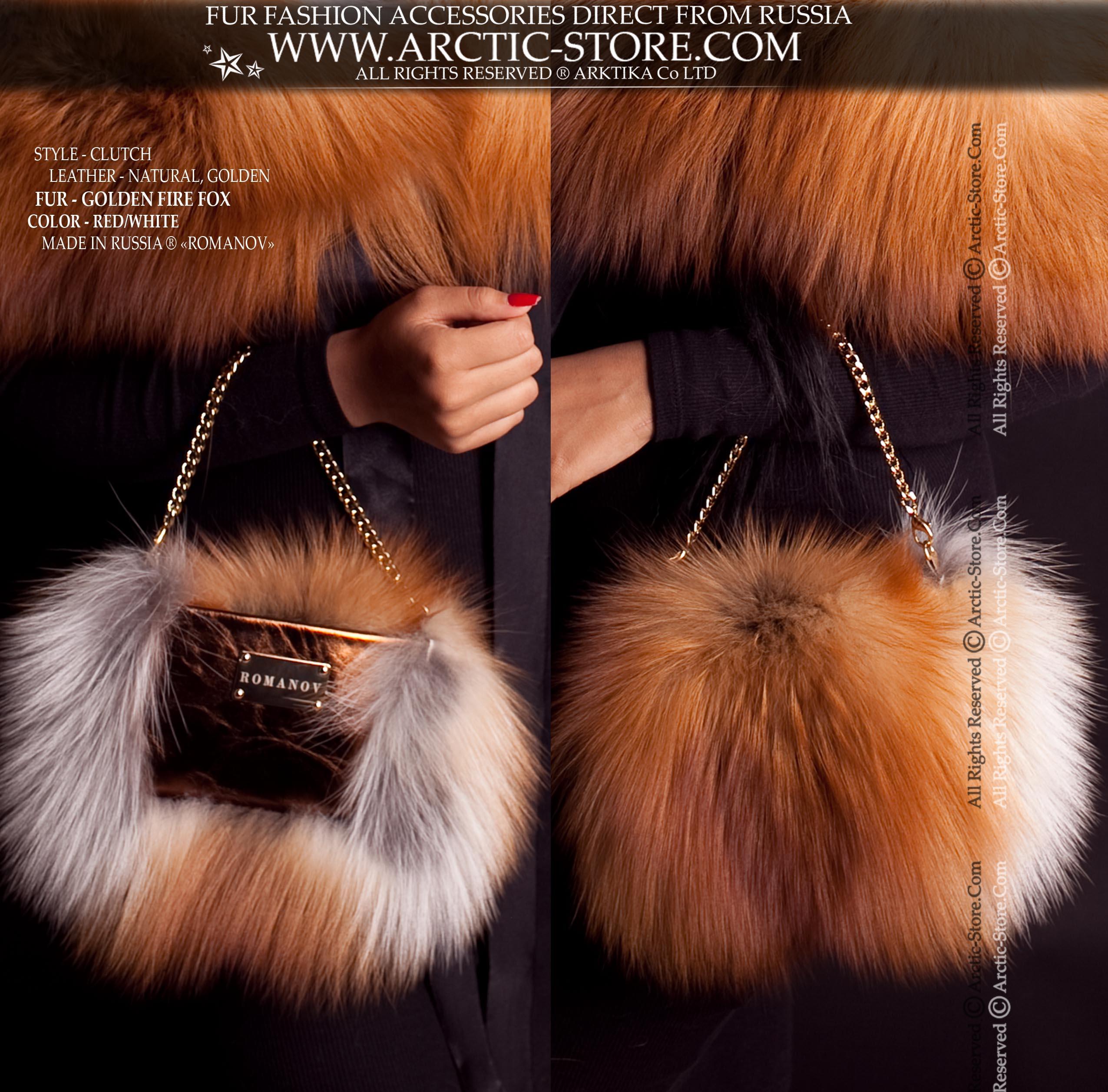 Buy Fur Clutch bags   Clutch Purses Online for Women at Arctic-Store 43848841900c